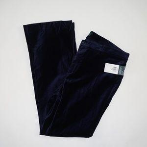Lauren Ralph Lauren Velour Navy Pants